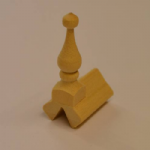 1491 End Ridge Tile & Finial 60 degree